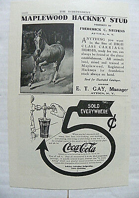 "1907,JULY 4 THE INDEPENDENT ""WHEN YOU FEEL WAY-WORN"" 5c ARROW TO SODA DISPENSER"
