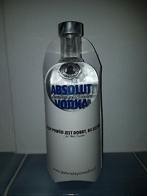 Absolut Vodka Polish Paper Skin Edition sealed 700ml *Limited Edition*