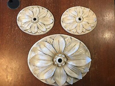 Aqua Accent Swimming Pool Waterfall Sunflower Fountain Water Scupper - Set of 3