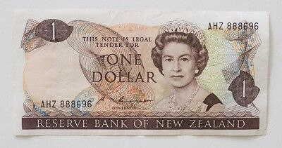NEW ZEALAND ONE DOLLAR NOTE, no date