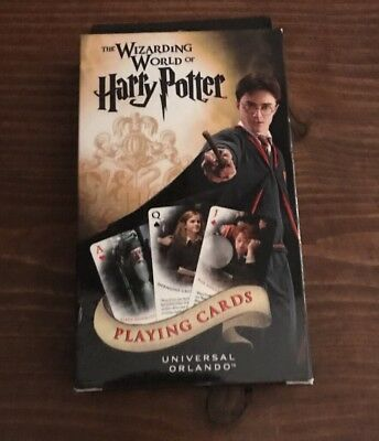 Universal Studios Wizarding World Of Harry Potter Harry Potter™ Playing Cards