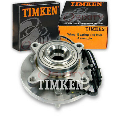 Timken Front Wheel Bearing & Hub Assembly 2011-2014 Ford F-150 Left Right xg