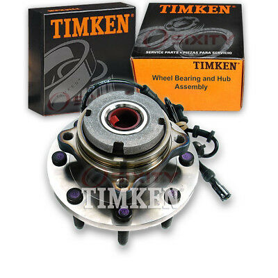 Timken Front Wheel Bearing & Hub Assembly 1999-2004 Ford F-250 Super Duty an