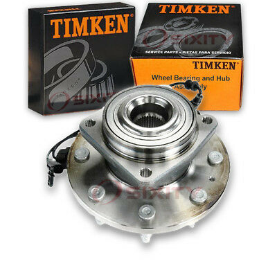 Timken Front Wheel Bearing & Hub Assembly 2011-2016 Ford F-350 Super Duty cy