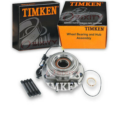 Timken Front Wheel Bearing & Hub Assembly 2011-2016 Ford F-350 Super Duty pt