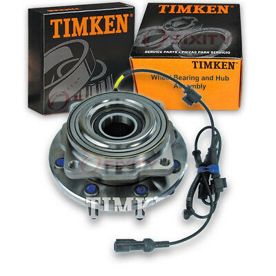 Timken Front Wheel Bearing & Hub Assembly 2005-2010 Ford F-250 Super Duty ar