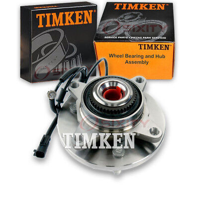 Timken Front Wheel Bearing & Hub Assembly 2011-2014 Ford Expedition Left tf