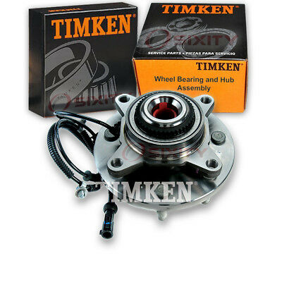 Timken Front Wheel Bearing & Hub Assembly 2009-2010 Ford F-150 Left Right gl