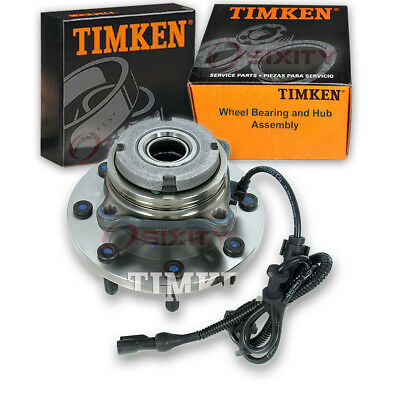 Timken Front Wheel Bearing & Hub Assembly 1999-2004 Ford F-350 Super Duty gl