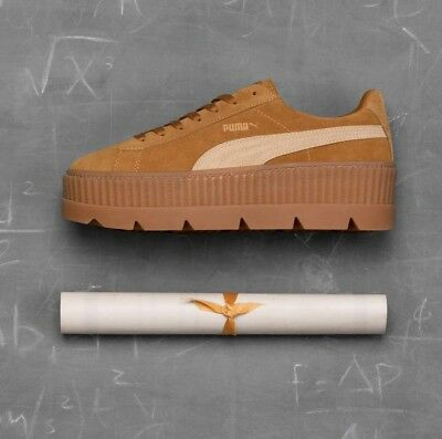 fd85a13af58873 Puma X Fenty by Rihanna Women s Suede Cleated Creeper Sneakers  160 (366268 -02)