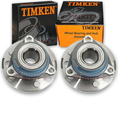 Timken Front Wheel Bearing & Hub Assembly 1992 Buick LeSabre Pair Left Right rs
