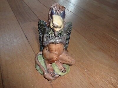 Beswick-Royal Doulton: 'Gryphon' Vintage Figurine ;1974 from Alice in Won