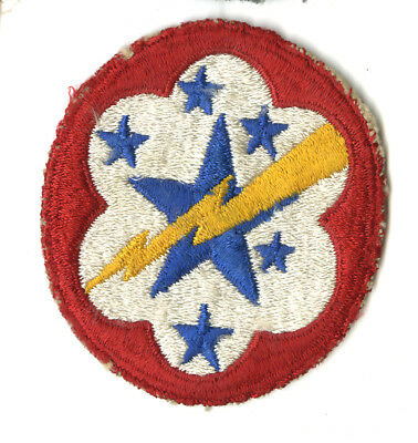 Wwii Original Western Pacific Forces White Back Patch