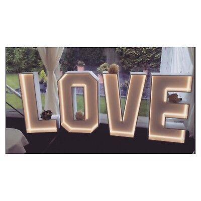 💛 Wedding love letters lights norfolk sign for hire to rent decoration venue 💛
