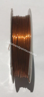 10M x 0.5mm Copper Tone Wire For Beading, Scrapbooking, Craft, Jewellery Making