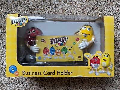 M&M Business Card Holder NEW