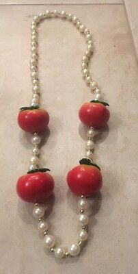 Decorative Tomato  Mardi Gras Bead