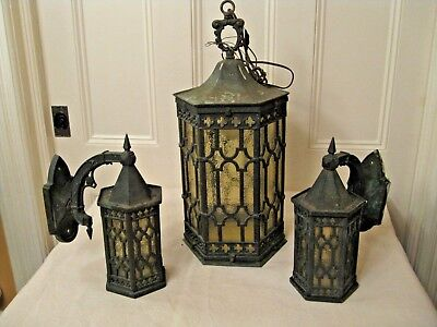 Antique Bronze Gothic Light & Wall Sconces Bergen County NJ Rockland County NY