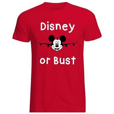 Disney or bust t-shirt, Custom t-shirt, Vacation shirt, T-shirt, Mickey mouse