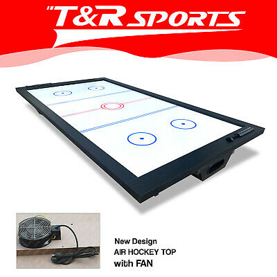7FT Real Fan Air Hockey Top for Pool Billiard Snooker Table Gaming Room Gift
