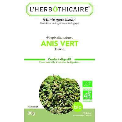 L HERBOTHICAIRE Anis Vert Bio 80g