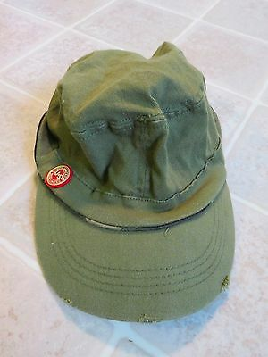JAMESON Military Cadet HAT Flex Fit Green Irish Whiskey Army Combat Embroidered