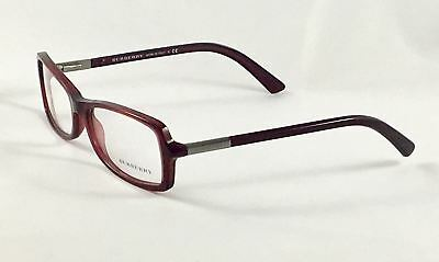New BURBERRY B2083 3014 Women's Designer Eyeglasses Frames 54-15-135