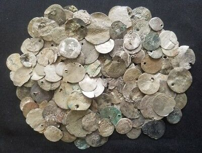 Large Lot Ottoman Silver Coins Islamic Turkish // Low Grade Damaged Cull Junk