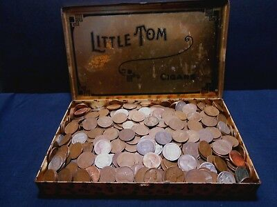 Estate Find--Great mix of early American cents & 90 % silver Dimes as well