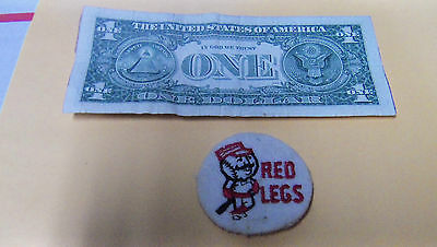 Vintage RED LEGS BASEBALL  Embroidered Smal Round Patch MLB Baseball BOX6