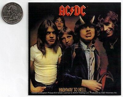 AC/DC ACDC new Sticker/Deal rock band music cool car bumper
