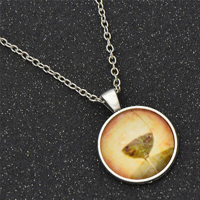 Glass Gemstone Vintage Wine Cup Cabochon Necklace Pendants Charms Unisex Jewelry