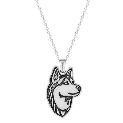 Siberian Husky Lovers Necklaces