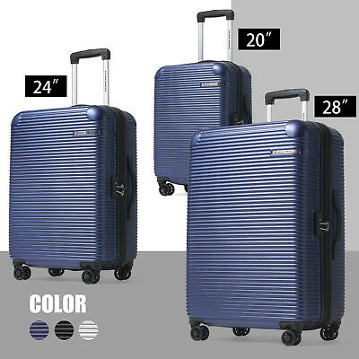 HONCARDO 3pcs Luggage Set Travel Bag Trolley  Suitcase TSA Lock Expandable