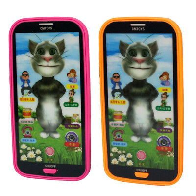 Kids Baby Simulator Music Phone Touch Screen Educational Learning Toy New Gift
