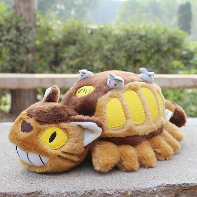 Plüsch Figur Mein Nachbar Totoro My neighbour Totoro Cat Bus Manga Anime Plush