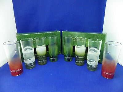 Johnnie Walker Whisky Green Label 8x Glasses Two sets NEW