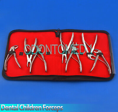 X7 Dental Children Tooth Extraction Extracting Forceps Surgical Pedo