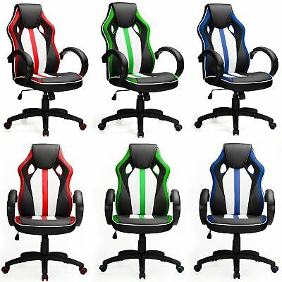 Office Chair Racing Design Gaming Gamers Computer Desk Chair