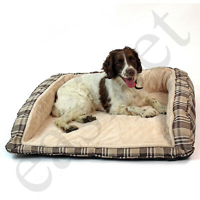 Deluxe Orthopaedic Soft Dog Pet Warm Sofa Bed Cushion Chair Large Luxury Easipet