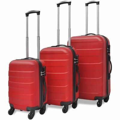 3Pc Family Holiday Business Travel Clothing Luggage Storage Bag Trolley Suitcase