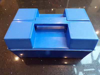 Matchbox 24 car carry case & 2 trays Superfast era