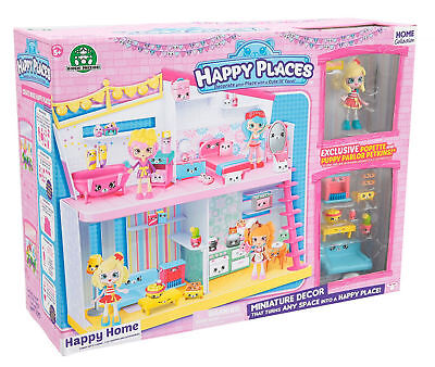 Shopkins Happy Places Happy Home Dolls House & Accessories Children Toy Play Set