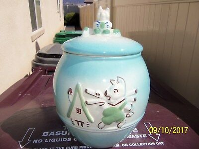 1950's signed Marcia Of California - DeForest Little Pig Cookie Jar VERY RARE!!!