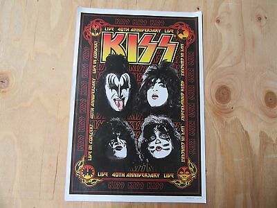 Kiss Live 40th Anniversary Poster #2 of 1500