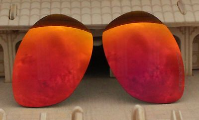 1bf871e6a7 ACOMPATIBLE Lenses Replacement Polarized for-Oakley Fives 2.0 Lenses - Fire  Red