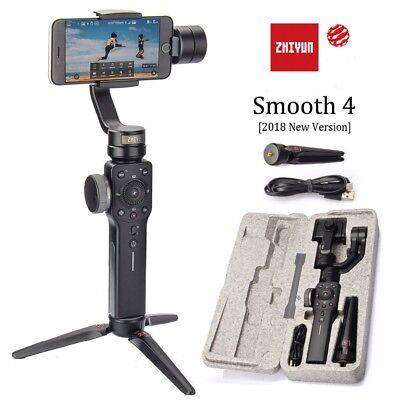 Zhiyun Gimbal Smooth 4 3-Axis Gopro Video Stabilizer for Smartphone within 6.0''