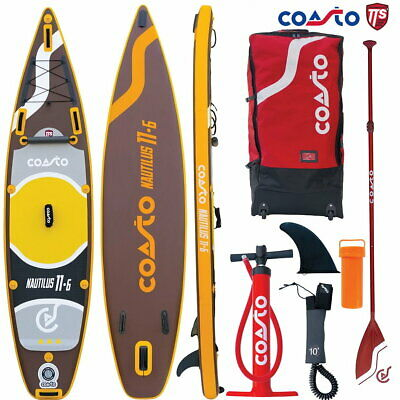 COASTO NAUTILUS 11.6 SUP Board Stand Up Paddle Surf-Board Allround Touring ISUP