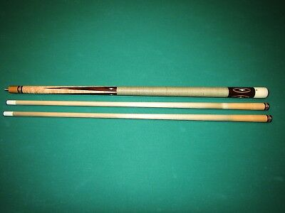 1989 Tim Scruggs 4 Point Cocobolo Rare Tulip Wood Joint Cue 2 Original Shafts