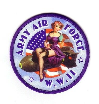 ARMY AIR FORCE PIN-UP (Ecusson/Patch Souvenir)